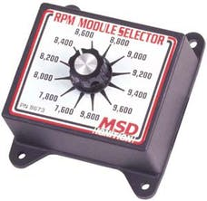 MSD Performance 8673 Selector Switch
