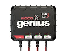 The NOCO Company GENM3 12A 3-Bank Onboard Battery Charger