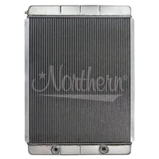 Northern Radiator 204104BC 28 X 19 Overall With High Flow Oil Cooler