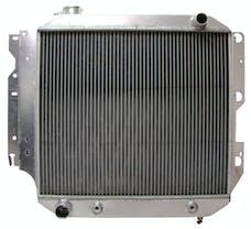 Northern Radiator 205087 Muscle Car Radiator - 21 x 21 x 3 1/8
