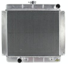 Northern Radiator 205213 Muscle Car Radiator - 19 3/4 x 21 7/8 x 2 1/2 - Outlet Driver Side