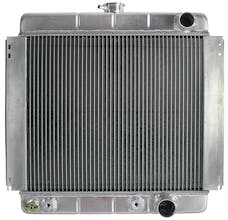 Northern Radiator 205214 Muscle Car Radiator - 19 3/4 21 7/8 x 2 1/2 - Outlet Passenger Side