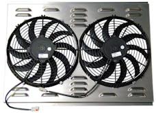 Northern Radiator Z40003 Dual 12 Inch Fan/Shroud Combo
