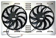 Northern Radiator Z40004 Dual 12 Inch Fan/Shroud Combo