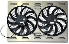 Northern Radiator Z40006 Dual 12 Inch Fan/Shroud Combo