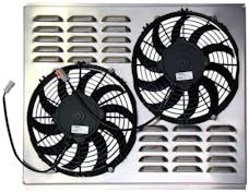 Northern Radiator Z40007 Dual 10 Inch Fan/Shroud Combo