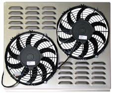 Northern Radiator Z40013 Dual 10 Inch Fan/Shroud Combo