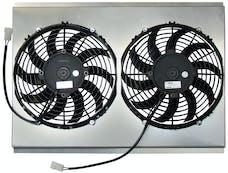Northern Radiator Z40081 Dual 10 Inch Fan/Shroud Combo