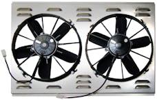 Northern Radiator Z40083 Dual 12 Inch Hurricane Electric Fan
