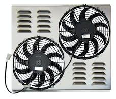 Northern Radiator Z40088 Dual 10 Inch Fan/Shroud Combo