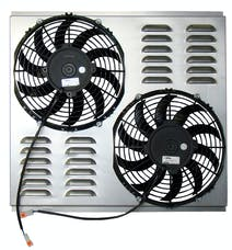 Northern Radiator Z40091 Dual 10 Inch Hurricane Electric Fan