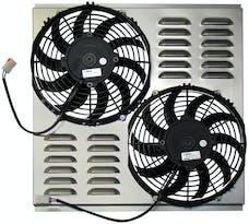 Northern Radiator Z40098 Dual 10 Inch Fan/Shroud Combo