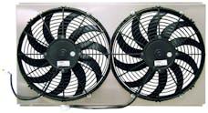 Northern Radiator Z40100 Dual 12 Inch Fan/Shroud Combo