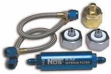 NOS 14300NOS Nitrous Refill Pump Station Transfer Line Assembly
