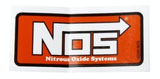 NOS 19208NOS Logo Decal