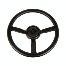 Omix-Ada 18031.11 Steering Wheel, Sport, Leather, Black