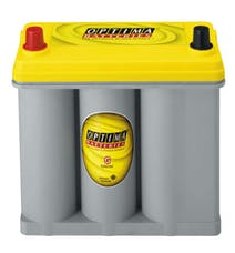OPTIMA Batteries 8073-167 Group D51R Yellow Top Un-Boxed