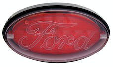 Pilot Automotive CR-017F Oval LED Hitch Brake Light, Ford Logo