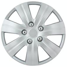 Pilot Automotive WH523-16S-BX Matte Silver 7 Spoke 16' Wheel Cover