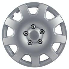 Pilot Automotive WH524-15S-BX Gear Silver 9 Spoke 15 in. WC