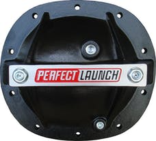 Proform 66667 Differential Cover; 'Perfect Launch' Model; Fits GM 7.5; Aluminum; Black