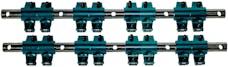 Proform 66869 Roller Rocker Arm Set; 1.5 Ratio; Shaft Mount Style; Fits SB Chrysler Engines