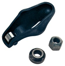 Proform 66906C Engine Roller Rocker Arm Set; 1.5 Ratio 3/8 Stud; Stamped Steel; Fits SB Chevy