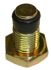 Proform 66960 Engine Oil Pan Drain Plug; 'No-Mess' Model; 12-20 Thread; Sold Each