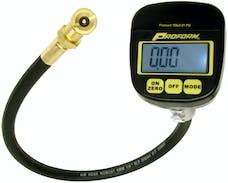 PROFORM 67399 Tire Pressure Gauge; Digital Type; 0-100 PSI Range; 0.01 Increments; Square Face