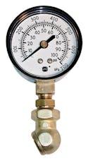 PROFORM 67402 Tire Pressure Gauge; 0-100 PSI Range; 2lb Increments; 2-1/2 Diameter Face
