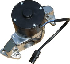 PROFORM 68220P Electric Engine Water Pump; Aluminum; Polished Finish; Fits SB Ford Engines