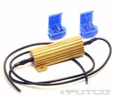 Putco 230004A Aluminum LED Light Bulb Load Resistor Kit (Single)