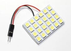 Race Sport Lighting RS-5050-24DOME-W 24 Chip LED Dome Panel (White)