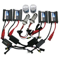 Race Sport Lighting H4-4-6K-SLIM True Bi-Xenon HID Kit