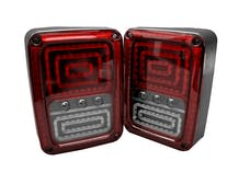 Race Sport Lighting RSJ21SLT LED Tail Lamp Rearlights Red Color