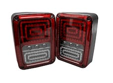 Race Sport Lighting RSJ21SLT LED Tail Lamp Rearlights Red Color