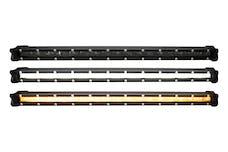 Race Sport Lighting RSLP26 LoPro Ultra Slim LED Light Bar with Amber Marker / Running Light Function 120W