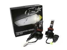 Race Sport Lighting H11TLED Terminator Series H11 Fan-Less Led Conversion Headlight Kit
