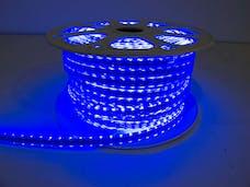 Race Sport Lighting MS-5050-164FT-B 110v Weatherproof Pier Light Strip 164ft Blue 5050