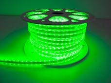 Race Sport Lighting MS-5050-164FT-G 110v Weatherproof Pier Light Strip 164ft Green 5050