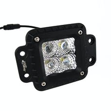 Race Sport Lighting RSHD4LEDFM Heavy Duty Flush Mount 4 LD Hi Power LED Spot Light 2x2