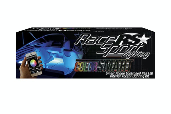 Race Sport Lighting RSIKCS ColorSMART Smartphone Controlled Interior LED Accent Kit