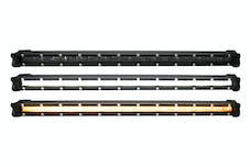 Race Sport Lighting RSLP8 LoPro Ultra Slim LED Light Bar with Amber Marker and Running Light Function 30w