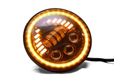 Race Sport Lighting RS8061WA 7in 61-Watt LED Sealed Beam Conversion Headlights