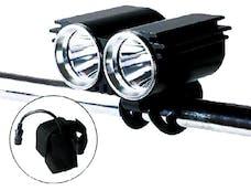 Race Sport Lighting RS8026 20 Watt Super Bright LED Headlight System - Mounts on Handles or Helmet