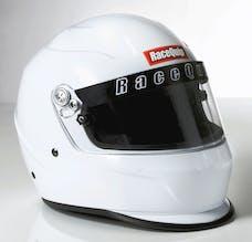 Racequip 273113 Pro15 Full Face Snell Race Helmet (Gloss White, Medium)