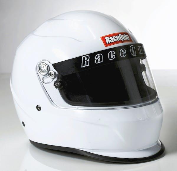 Racequip 273117 Pro15 Full Face Snell Race Helmet (Gloss White, XX-Large)