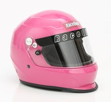 RaceQuip 273886 Pro15 Full Face Snell Race Helmet (Hot Pink, X-Large)