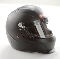 Racequip 273995 Pro15 Full Face Snell Race Helmet (Flat Black, Large)
