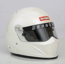 Racequip 283113 Vesta15 Full Face Snell Race Helmet (Gloss White, Medium)